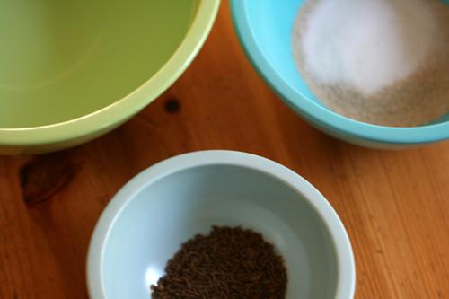 deli-style rye ingredientes