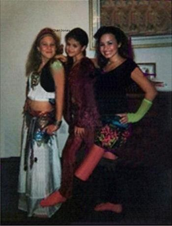 demi-selena and friend RARE! by Joe And Char is Destiny ♥.