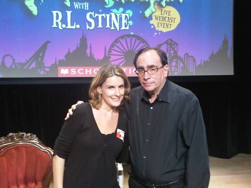 Mari Mancusi and R. L. Stine
