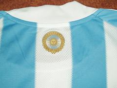 camiseta argentina seleccion 2010