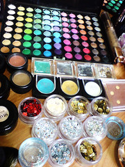 collection (Art Fountain) Tags: colours collection products eyeshadow glitters palatte makeuo blushers