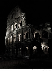 colosseum at night 2185159 (axndr) Tags: urban italy rome night landscape ruins europe view side colosseum piece gladiator