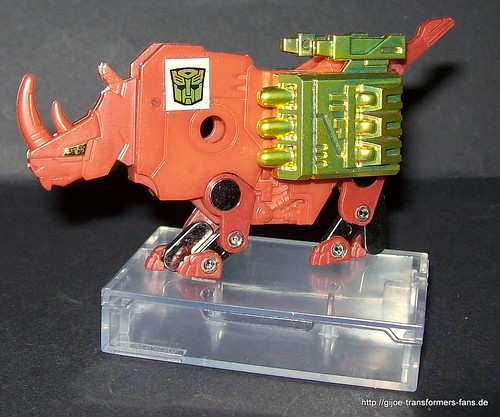 Ramhorn Transformers Generation 1 Encore no17 Cassette's Big Mission Volume 2 set 006
