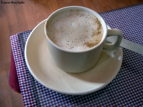 White coffee by Gaurav Dhwaj Khadka
