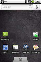 G1 with latest CyanogenMod ROM