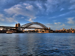 HDR Harbour Bridge (MaMADU!) Tags: city bridge house night landscape opera rocks harbour sydney australia shutter hdr the