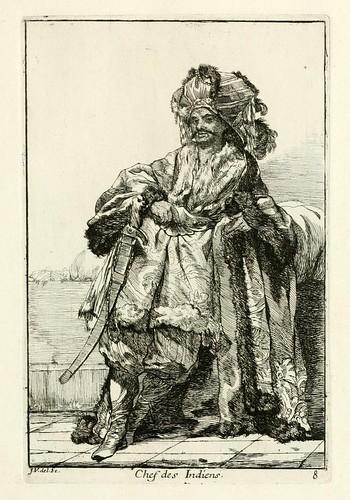 007-Jefe de los indues-Caravanne du sultan ala Mecque…1748- Joseph Vien