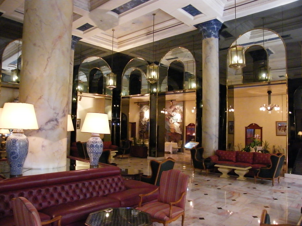 The wonderful and magical Le Royal Mansour Meridien Hotel in Casablanca, Morocco, A Palace of Paradise! 2008! So much more!