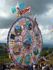 One of the massive kites.