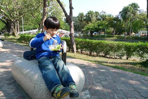 你拍攝的 2009/11/21*台中公園野餐*4y6m。