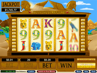 Boy King's Treasure slot game online review