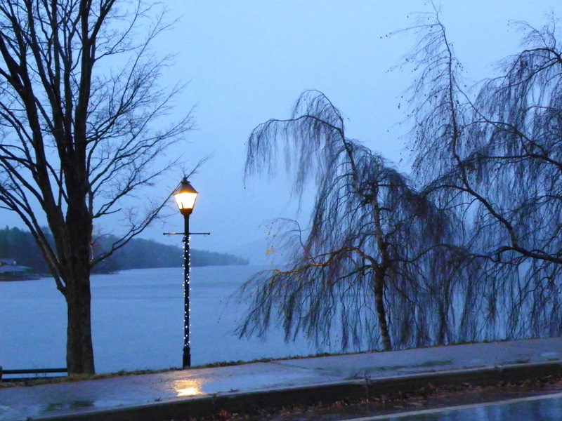 November Rain On Lake Massawippi