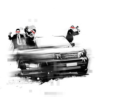 rangerover businessmen
