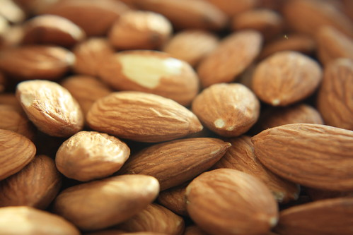 Almonds by anmuell, on Flickr