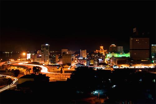 Johor Bahru At Night