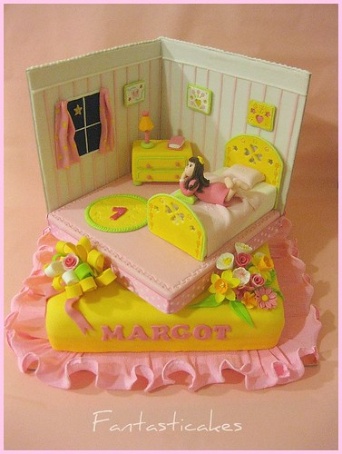 Torta Cameretta di Margot / Margot's Bedroom Birthday Cake