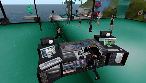 qwark allen psy dj in second life