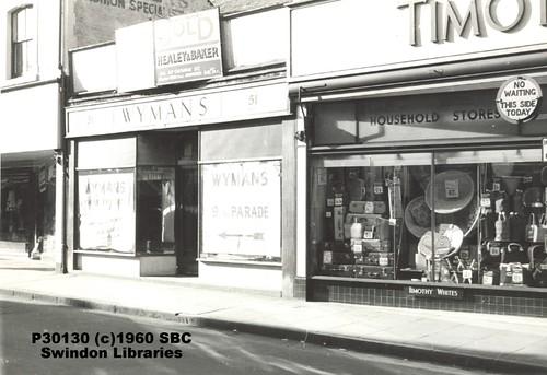 Bridge Street Stores >> 1960 Shops On Bridge Street Swindon A Photo On Flickriver