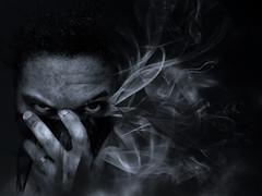 Smoke Test 1 (malik ml williams) Tags: selfportrait me smoke photochop cs4 thepinnaclehof kanchenjungachallengewinner thepinnacleblog pinnacleartphotography superheroesanythinggoes tphofweek229