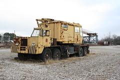 P&H Crane (dbro1206) Tags: yellow canon rust crane rusty equipment machinery forgotten arkansas resting ph oldiron truckcrane