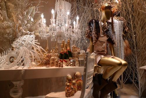 Vitrines de Noël - Printemps décembre 2009