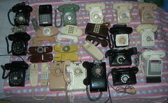 All my classic Telephones (cooldude166861) Tags: att itt strombergcarlson gte westernelectric bellsystem automaticelectric northelectric rotelco