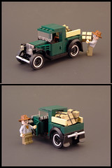 1931 Ford Model A Pickup (Legohaulic) Tags: ford truck modela 1931 lego pickup