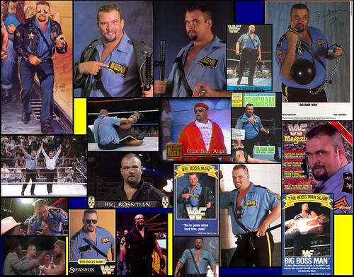 Raymond Traylor aka ''Big Boss Man'' Tribute Collage