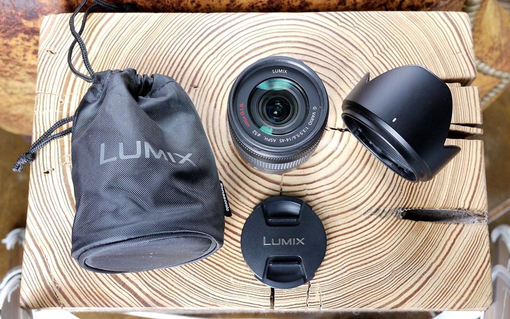 Panasonic Lumix G Vario 14 - 45mm f/3.5 - 5.6 ASPH / MEGA O.I.S. Four Thirds Lens