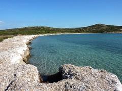 Plage de Saparelli : la plage vers l'E