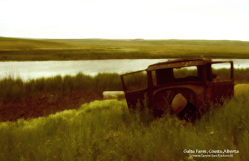 Old Truck - Galts Farm, Southern Alberta