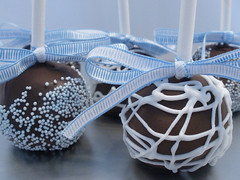 New Years CakePops (CupCakeBite/Cup Cake Pantry) Tags: newyears chocolatedipped pops cakebites