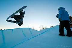 SNOWBOARD Training in Gaylord, Michigan by MyWheelsareTurning