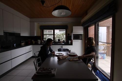 Brekkie with Sofie in Ter Molen/Zonhoven, Belgium.