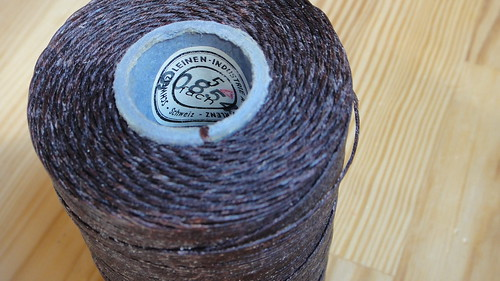 Vintage waxed linen cord