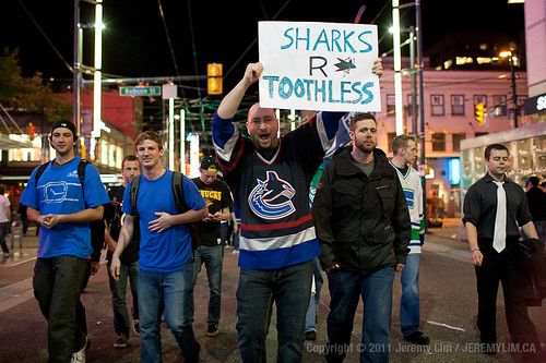 The Road to the Stanley Cup 2011: Sharks R Toothless