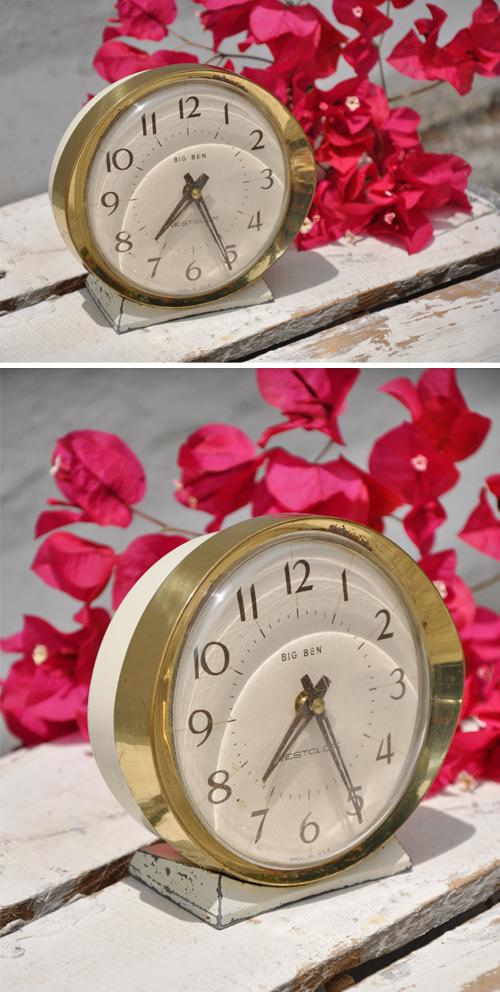 Cream-Clock-Vintage-Rentals