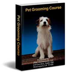 Dog grooming online courses for beginners, dog grooming tutorial, dog grooming ebook