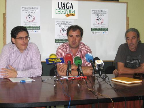 Presentación Mercado Agroecológico de Huesca