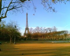 The Eiffel Tower, Paris, Dec. 2006