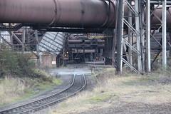 IMG_0815  British Steel, Scunthorpe (SomeBlokeTakingPhotos) Tags: britishsteel steel steelworks steelmill steelindustry stahlwerk stahl heavyindustry manufacturing industrialrailway torpedocar