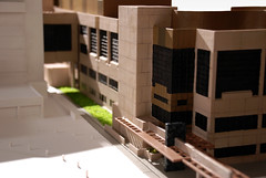 Hospital connector (3D Ventures) Tags: 3dmodel architecturalmodel 3dprint zcorp