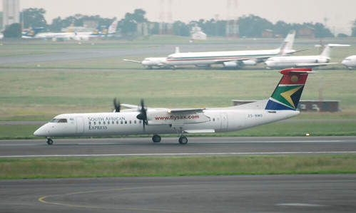 South African Express Q400 ZS-NMO