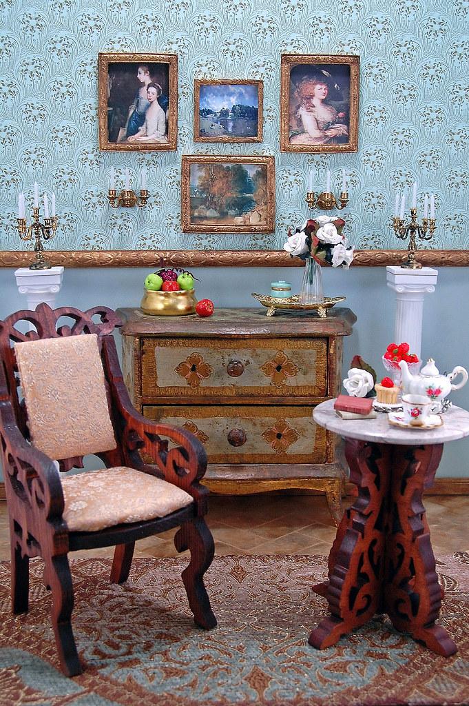 Ode to Jane Austen: Regency Diorama