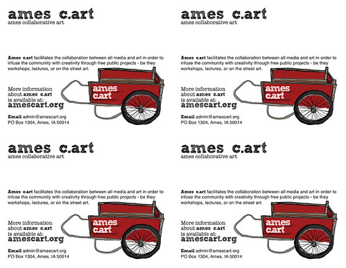 ames c.art flyer