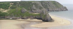 Three Cliffs Bay Panorama