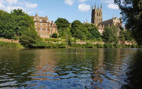 Worcester in summer