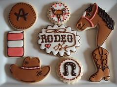 Allie's Rodeo Collection (SweetSugarBelle) Tags: horse leather boot cowboy rodeo horseshoe cowboyhat saddle barrelracing cattlebrand