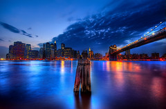 New York, New York (NikolaT) Tags: street new city nyc travel bridge light sunset sky panorama ny color colors photoshop canon raw dusk manhattan explore frontpage soe hdr nigh brookyn yourk newyorkcitystreets labmode photomatix sigma1020 3exp flickrsbest 450d nikolat 100commentgroup nikolatomovic maybethebestnightinpast12monthts