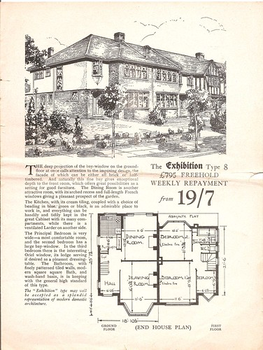 Morden Park Tudor Estate Brochure-The Exhibition